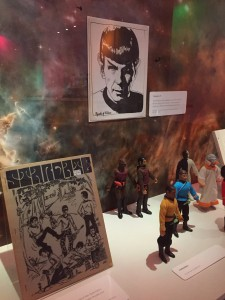 Zines and Star Trek toys