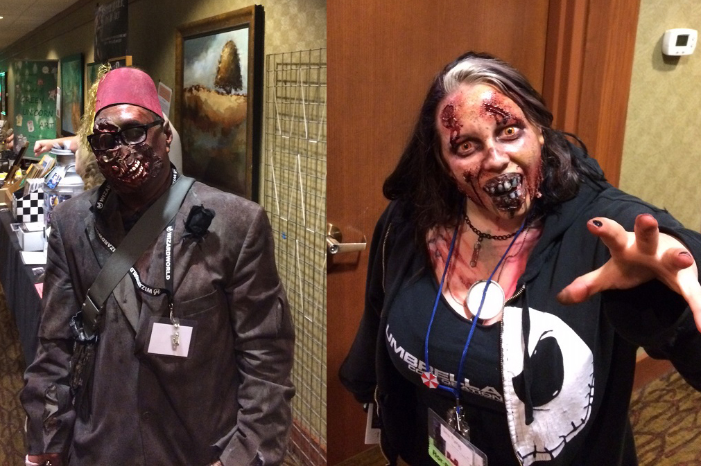 Zombie costumes from Demicon