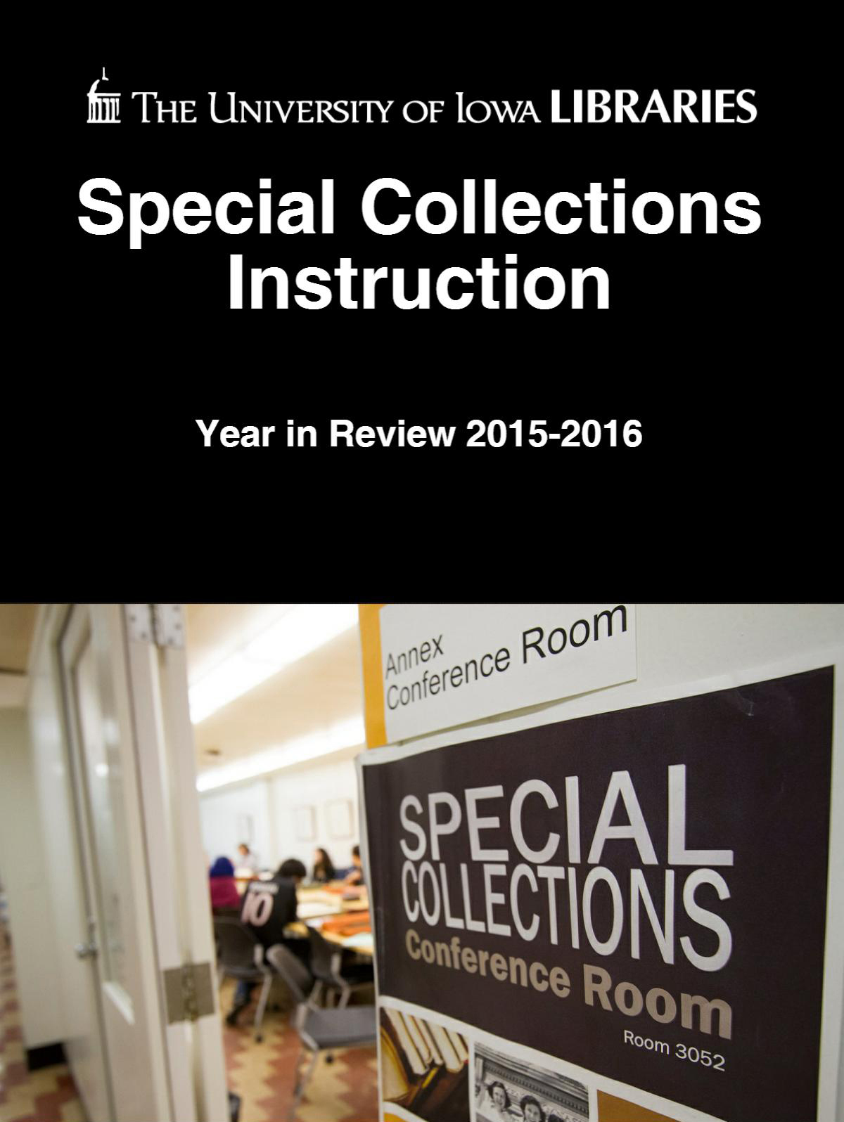 Special Collections Instruction Year in Review 2015-2016