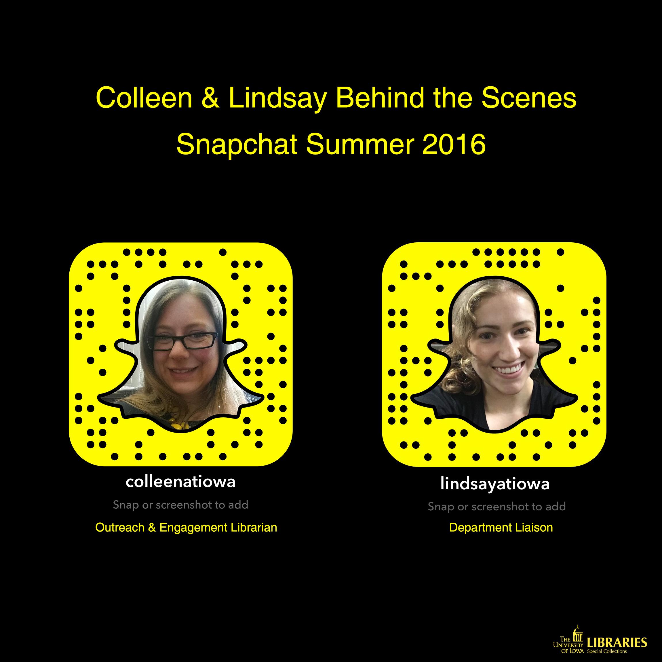 Snapchat icons
