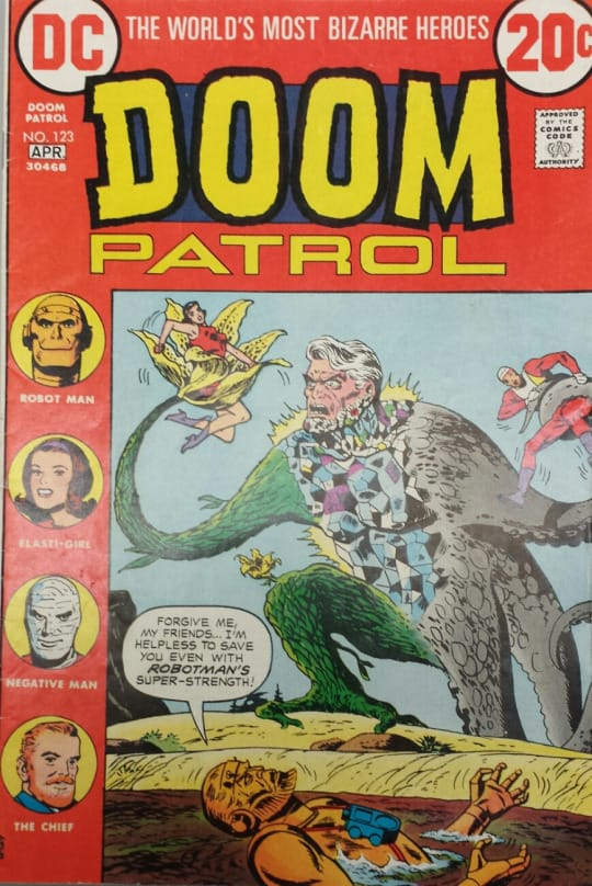 Doom Patrol comic book cover