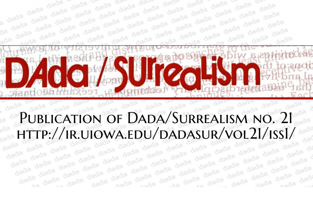 Dada/Surrealism Journal issue number 21 was published.