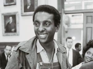 Young picture of Stokely Carmichael