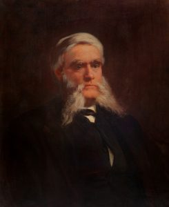 oil portrait of George Thacher