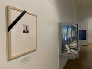 Portrait of Marvin Sackner in the Gallery