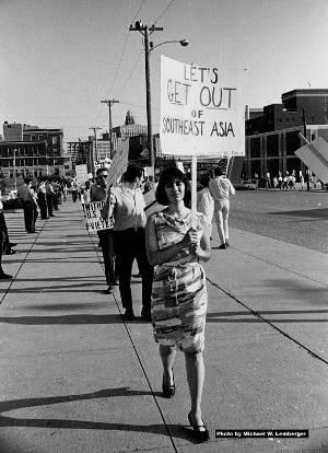 Des Moines Protestors in 1966
