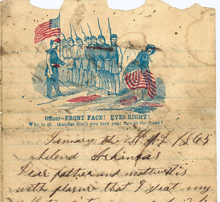 Wilkerson letters, 1863-1865 | Civil War Diaries and Letters