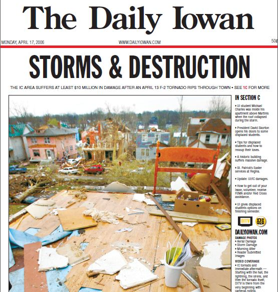The Daily Iowan, April 17, 2006 | The Daily Iowan Historic Newspapers