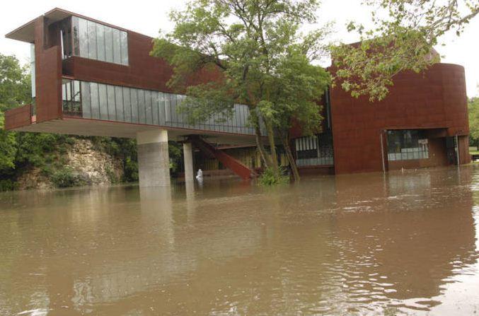 Art Building West, University of Iowa, June 2008 | Iowa City Flood