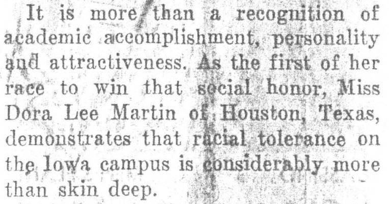 """""""S.U.I. queen vote accents tolerance,"""" December 14, 1955"""