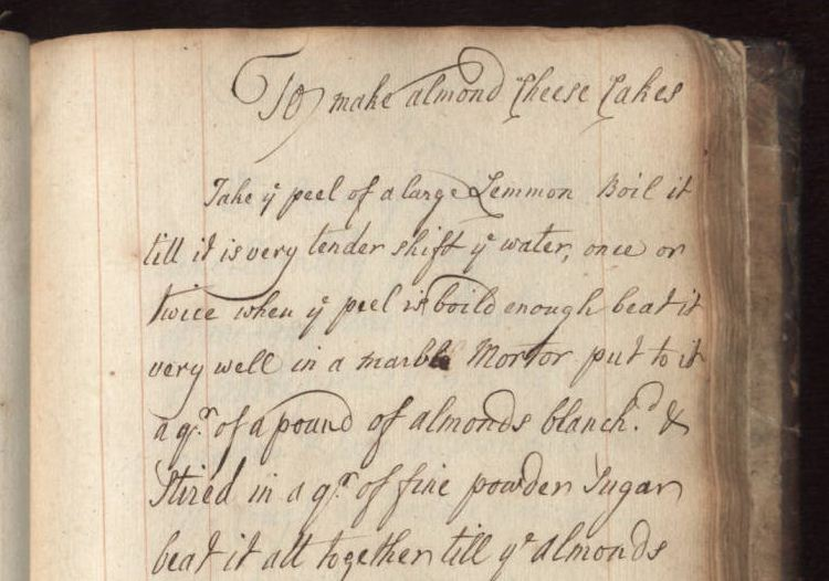 To make almond cheese cakes, Ann Kenwrick cookbook, 1770 | Szathmary Culinary Manuscripts
