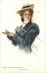 """A thoroughbred"" 1907"