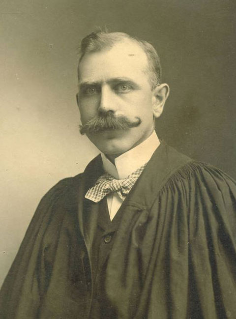 College of Dentistry Dean W.S. Hosford, 1908  |  Dentistry College Class Photographs