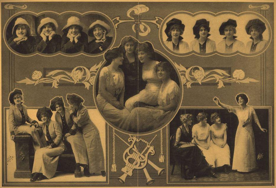 The Marigold Quartette brochure | Traveling Culture - Circuit Chautauqua in the 20th Century
