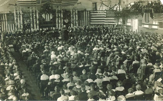 Foundation Day speech, The University of Iowa, 1910s?
