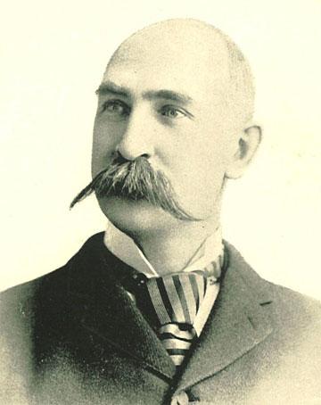 UI President Charles A. Schaeffer, 1893 | University of Iowa Yearbooks