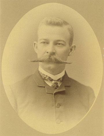L.K. Fullerton, 1885 | Dentistry College Class Photographs