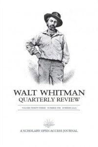 Walt Whitman Quarterly Review