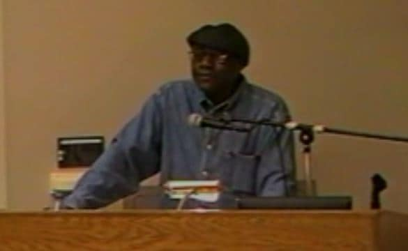 James Alan McPherson lecture, October 11, 2003